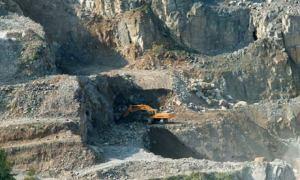 A stone quarry