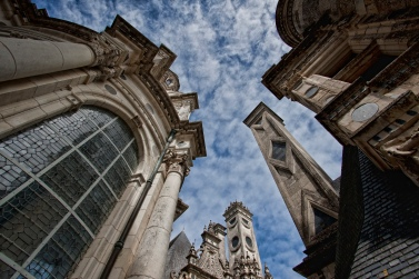 Chambord_Castle_Roof