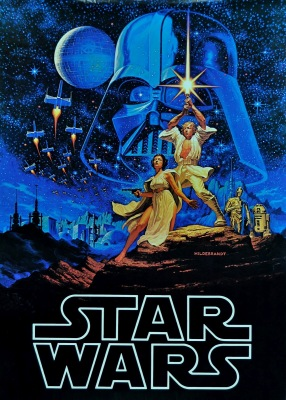 Star Wars - A New Hope (1977) Factors Commercial Poster by Hildebrandt