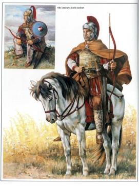 Archer byzantin 6e siècle