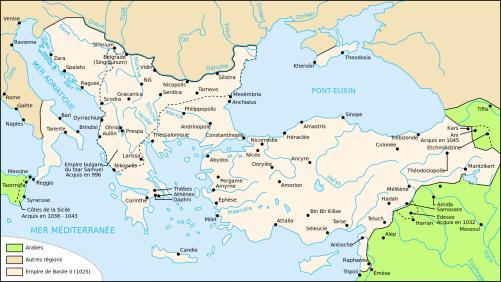 Empire byzantin 1025