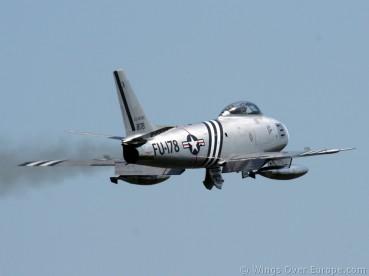 F-86 Sabre..USAF...Koksijde 2008 (1)
