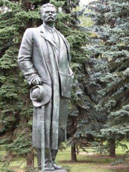 Dzerjinski (Parc des statues déboulonnées, Moscou)