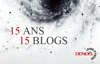 Logo 15 ans 15 blogs