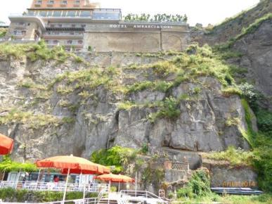 Hôtel sur la falaise