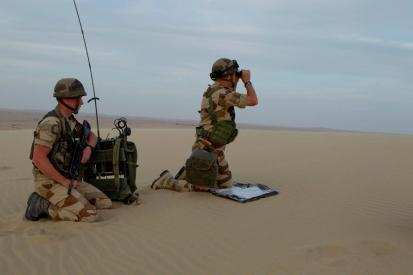 Manoeuvre des troupes ˆ Gurlf Falcon 2013