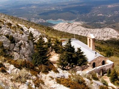 Montagne Ste victoire - Prieure et Lac de Bimont 2