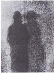 Georges Seurat Au crépuscule