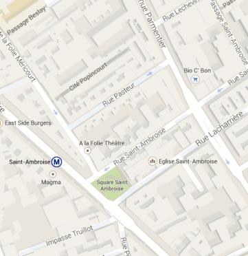 Quartier Saint-Ambroise
