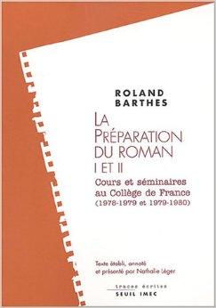 La préparation du roman