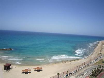 Plage à Haifa