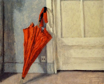 Avigdor Arikha - The Red Umbrella