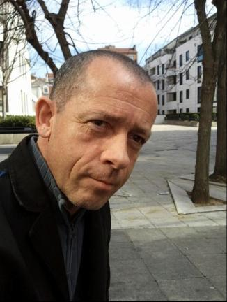 Jean-Luc Manet, journaliste, critique rock, écrivain. 2012.