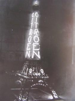 La Tour Eiffel illuminée par Fernando Jacopozzi (1925)