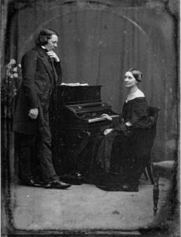 Robert et Clara Schumann