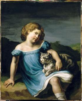 © Théodore Gericault, Portrait de Louise Vernet (1819)