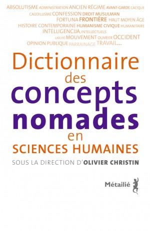 dictionnaire des concepts nomades en sciences humaines-300x460