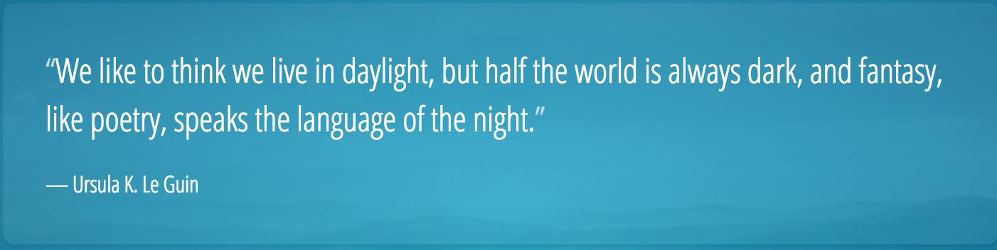 note de lecture 171 le langage de la nuit ursula k le