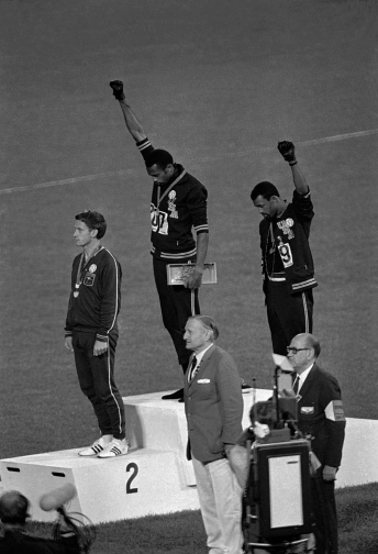 Tommie Smith Sochi Gay Law