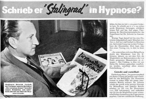 """Artikel in der """"Frankfurter Illustrierten"""" vom 15.03.1958."""