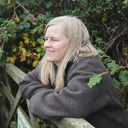 Nina Allan at gate
