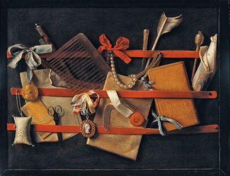 Tromp-l'oeil_Still-Life_1664_Hoogstraeten