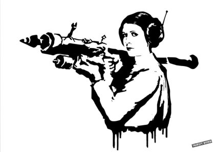 Print_Princess_Leia_Bazooka_Rocket_Mona_Lisa_Banksy_Thirsty_Bstrd_Urban_Art_Star_Wars_Print_1-e1490954787476