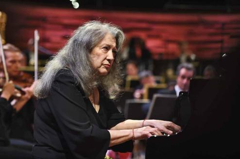 Martha Argerich, Auditorium de Radio France, concert du jeudi 5 Octobre 2017