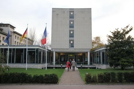 Façade la Fondation de l'Allemagne, Maison Heinrich Heine à la CIUP