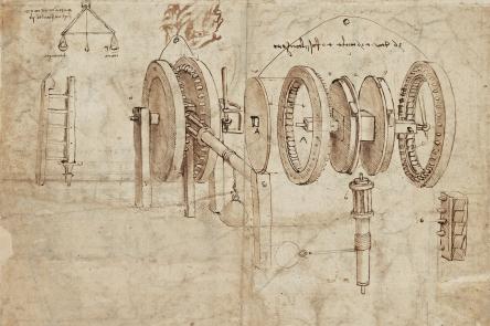 Codex Atlanticus, sheet 30 verso