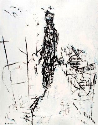 André-de-Richaud-acrylique-sur-toile-146x114cm-2009