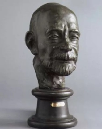 Sculpture de Vildrac par Takata Hiroatsu