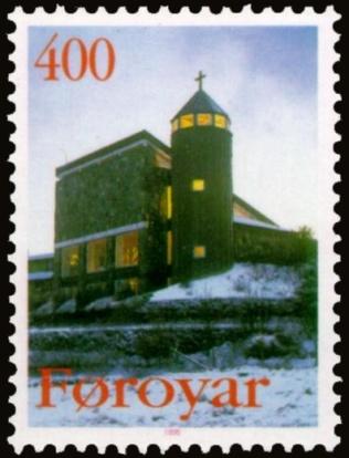 Faroe_stamp_281_catholic_church1